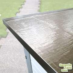 Membrane de toit auto-adhesive, anthracite. Rouleau de 5m