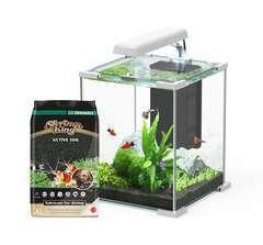 Aquarium nano Sarawak Cube 16,7L Blanc