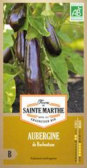 Graines d'aubergine de barbentane Bio en sachet