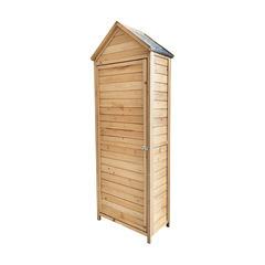 Abri d'armoire extérieur en bois Gardiun Candy 70x35x177 cm