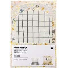 Pochettes cadeaux craft FSC mix - 2 tailles - 6 pièces