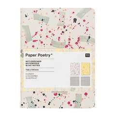 Bloc note A6 Craft tachetés 40 pages à carreaux 82 g, 2 pièces
