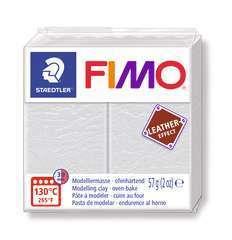 Pâte Fimo Effect cuir 57g ivoire