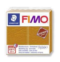 Pâte Fimo Effect cuir 57g ocre