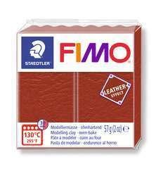 Pâte Fimo Effect cuir 57g rouille