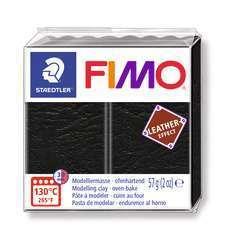 Pâte Fimo Effect cuir 57g noir