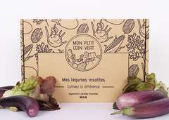 Kit de graines avec légumes insolites - Certifié AB