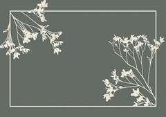 Tapis vertueux assortiment végétal 58x39cm