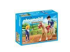 Figurine : Voltigeuses et cheval