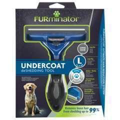 Brosse pour chien Undercoat L Poils longs