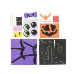 Forme Halloween en mousse pour décoration citrouille, 39 pièces