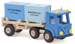 Camion avec 2 containers New Classic Toys