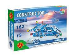 Constructor Fighter - Avion militaire Alexander Toys