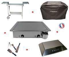 Pack plancha CLASSIC 600 INOX - CHARIOT MAGNELIS