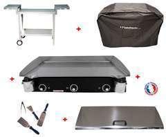 Pack plancha LUX 830 CARBON - CHARIOT MAGNELIS