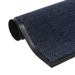 Paillasson rectangulaire 40 x 60 cm Bleu