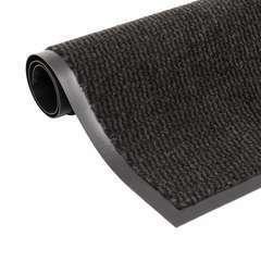 Paillasson rectangulaire 80 x 120 cm Noir