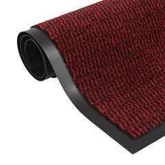 Paillasson rectangulaire 90 x 150 cm Rouge