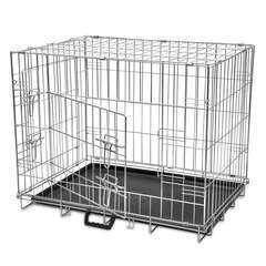 Cage métallique et pliable pour chiens M