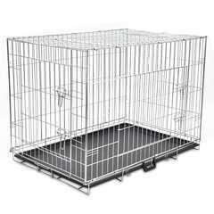 Cage métallique et pliable pour chiens XL
