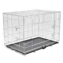 Cage métallique et pliable pour chiens XXL