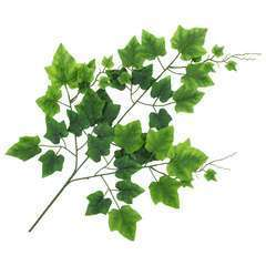 10 pcs Feuilles artificielles de raisin Vert 70 cm