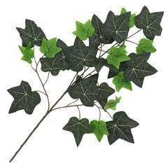 10 pcs Feuilles artificielles de lierre Vert 70 cm