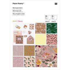 Bloc papier Vive la Nature, 30 feuilles 21x29.7 cm, 120g/m² et 270g/m²