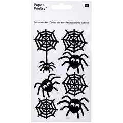 Autocollants paillettes araignée