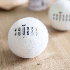 Pousse Pousse 4 Balles de séchage en laine
