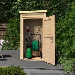 Armoire de jardin brut / terrasse 367 T1 - 109,6x106,2x200,5 cm