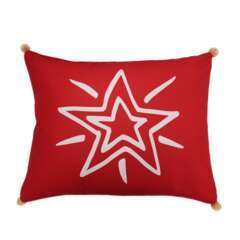 Coussin Flannel Star L