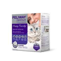 Feliway Optimum Kit complet (diffuseur + recharge 30 j )