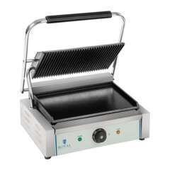 Machine à panini - 1 x2.200W acier inox