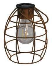 Lanterne Duisberg solaire D.13xH.16cm