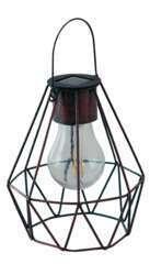 Lanterne Dusseldorf solaire D.13xH.16cm