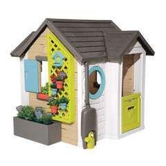 Maisonnette pour enfant  GARDEN HOUSSE L 124 x l 132 x H 135 cm