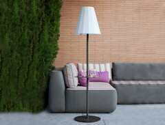 Lampadaire Helga Anthracite Solaire+Baterrie Rechargeable