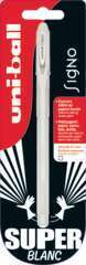Blister 1 roller encre gel SIGNO Blanc 0.7mm