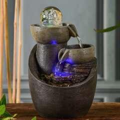 Fontaine d'Intérieur Malla avec Eclairage Led