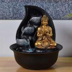 Fontaine d'Intérieur Bouddha Praya avec Eclairage Led