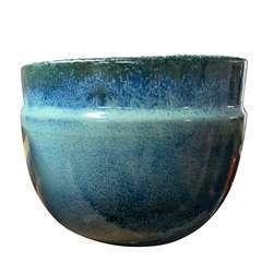 Austral blue Wawe D.20 x H.16cm