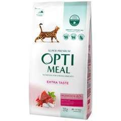 Optimeal - chats stérilisés - riche en bœuf & sorgho 1.5kg