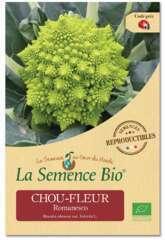 Graines potagères Chou-fleur Romanesco Bio 0,1g