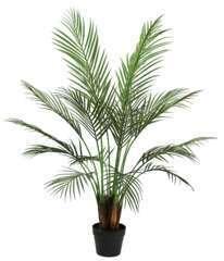 Palmier areca artificiel pot noir 110cm