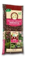 Paillage fertilisé ornemental - sac de 50 litres