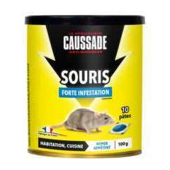 Anti-nuisible Souris forte infestation - 100 g