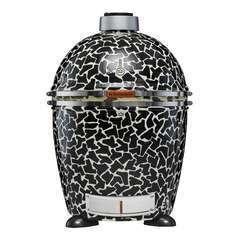Barbecue au charbon de bois en terre cuite Kamado MoMAA-Grille D.53cm