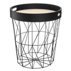 Atmosphera, créateur d'intérieur-Table à café Kumi plateau noir.