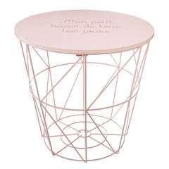 Atmosphera, créateur d'intérieur-Table de rangement Kumi rose pour enf